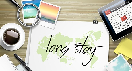 Long Stay! Get Discount 30 % of 10 days or more!